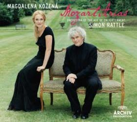 Magdalena Kozena, Orchestra Of The Age Of Enlightenment, Simon Rattle - Mozart: Concert Arias CD - 00289 4776272