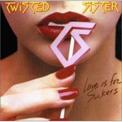 Twisted Sister - Love Is For Suckers CD - 7567817722
