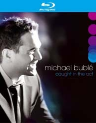 Michael Buble - Blu Ray - Caught In The Act Blu-Ray - 7599399930