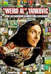 """""""Weird Al"""" Yankovic - The Ultimate Video Collection DVD - 82876537279"""