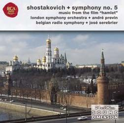 Andre Previn - Shostakovich, Symphony No. 5: Suite From CD - 82876554932