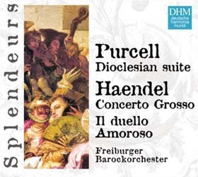 Freiburger Barockorchester - Purcell: Dioclesain Suite CD - 82876601572