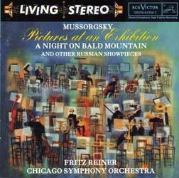Fritz Reiner - Mussorgsky: Pictures At An Exhibition CD - 82876613942