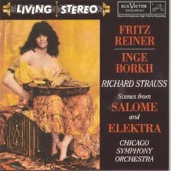 Fritz Reiner - Strauss R: Scenes From Salome And Elektra CD - 82876679002