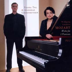 Tal And Groethuysen - Mozart: Works For 2 Pianists Vol 2 CD - 82876783632