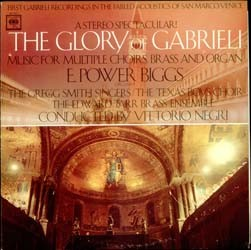 E. Power Biggs / Gregg Smith Singers - Gabrieli: The Glory Of Gabrieli (Great P CD - 82876787622