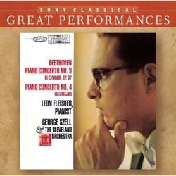 Leon Fleisher / Cleveland Orch / Szell G - Beethoven: Piano Ctos 3 And 4 (Great Perfo CD - 82876787672