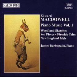 Macdowell: Woodland Sketches - Barbagallo CD - 8559010