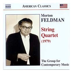 Feldman - Feldman: String Quartet CD - 8559190