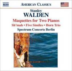 Walden: Maquettes For Two Pianos - Walden CD - 8559355