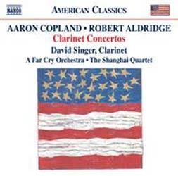 Robert Livingston Aldridge , Aaron Copland - Clarinetr Concertos CD - 8559667