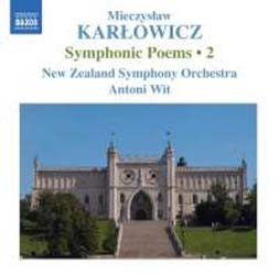 Karlowicz: Symphonic Poems 2 - Nzso/Wit CD - 8570295