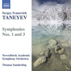 Taneyev - Symphonies 1 And 3 CD - 8570336