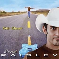 Brad Paisley - 5Th Gear CD - 88697071712