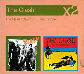 The Clash - The Clash / Give 'Em Enough Rope CD - 88697161082