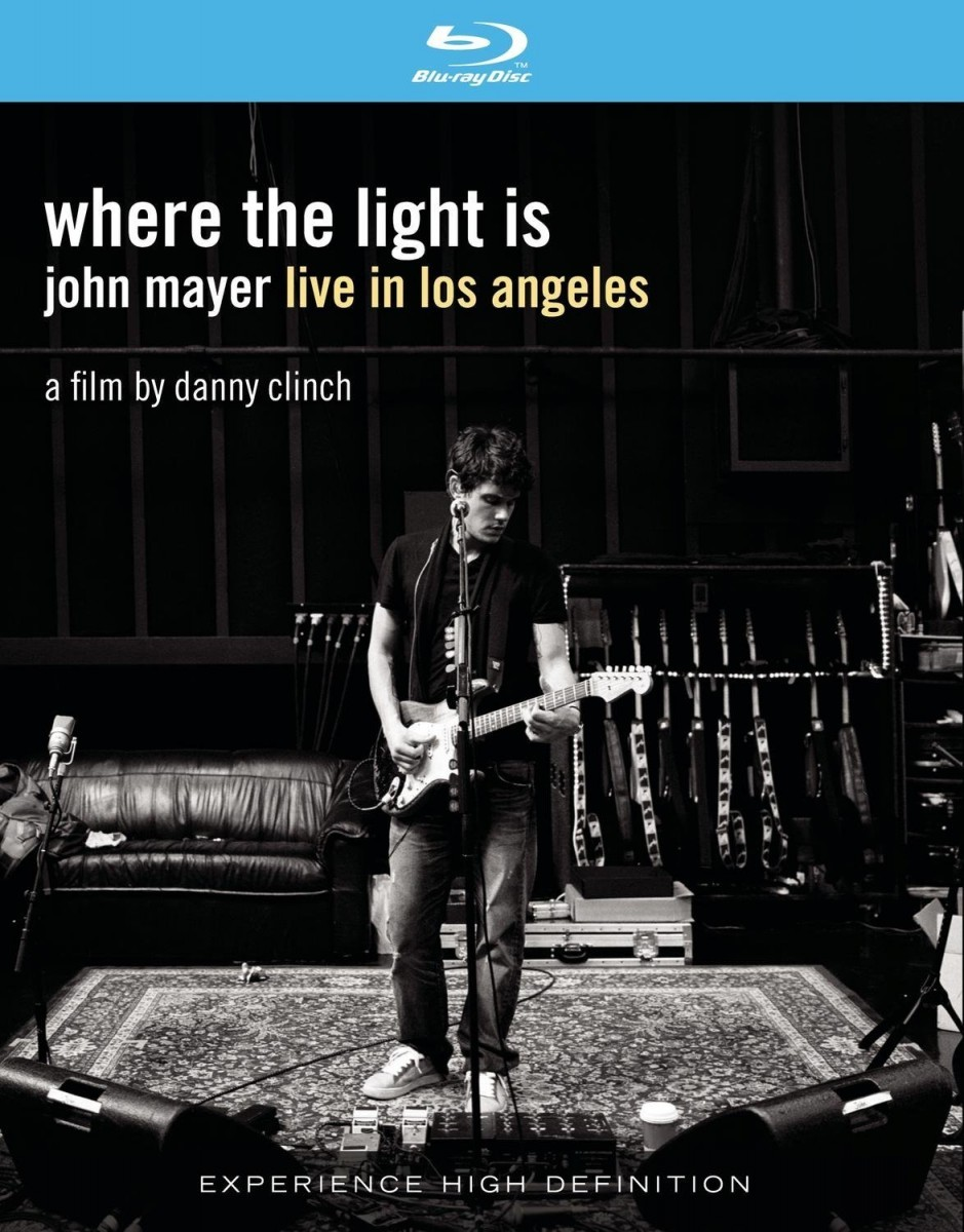 John Mayer - Where The Light Is: Live In Los Angeles Blu-Ray - 88697338319