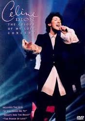 Céline Dion - The Colour Of My Love Concert DVD - 88697359819