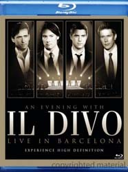 Il Divo - An Evening With Il Divo - Live In Barcel Blu-Ray - 88697617879