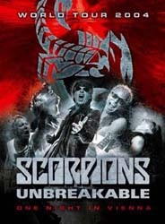 Scorpions - Unbreakable World Tour 2004 - One Night DVD - 88697705419