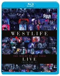 Westlife - The Where We Are Tour - Live At The O2 Blu-Ray - 88697814639