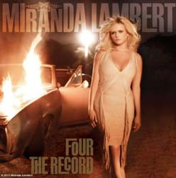 Miranda Lambert - Four The Record CD - 88697905892
