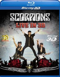 Scorpions - Get Your Sting And Blackout Live 2011 In 3D Blu-Ray - 88697918159