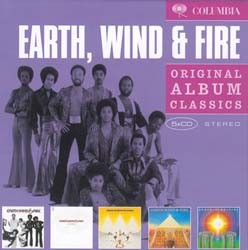 Earth, Wind & Fire - Original Album Classics (5Cd) CD - 88697928842