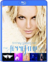 Britney Spears - Britney Spears Live: The Femme Fatale Tour Blu-Ray - 88697986699