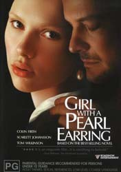 Girl With A Pearl Earring DVD - 9288