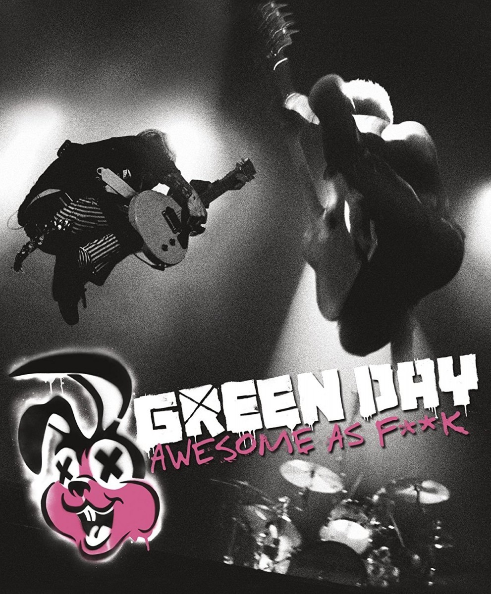 Green Day - Awesome As F**K Blu-Ray+CD - 9362495906
