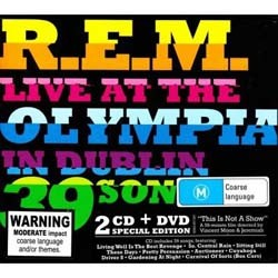 R.E.M. - Live At The Olympia In Dublin CD+DVD - 9362497481