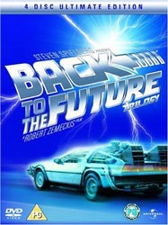 Back To The Future Collector's Box Set DVD - 9876