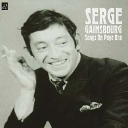 Serge Gainsbourg - Songs On Page One CD - ACMEM 169