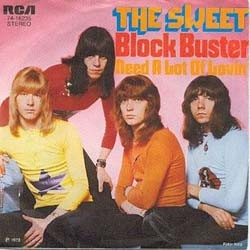 The Sweet - Block Buster DVD - AS13255