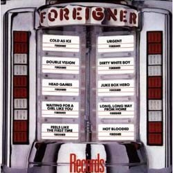 Foreigner - Records CD - ATXD 9