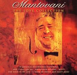 Mantovani & His Orchestra - The Love Collection CD - BUDCD 1093