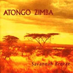 Atongo Zimba - Savannah Breeze CD - CD HIP003