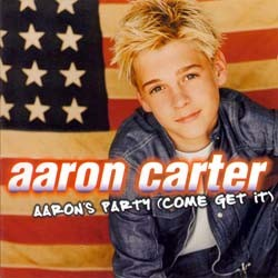 Aaron Carter - Aaron's Party (Come Get It) CD - 01241417082