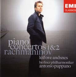 Leif Ove Andsnes - Rachmaninov:Piano 1 And 2 CD - CDC 4748132