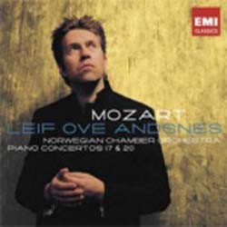Leif Ove Andsnes - Mozart: Piano Conc. 17 And 20 CD - CDC 5002812