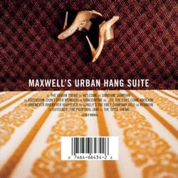 Maxwell - Urban Hang Suite CD - CDCOL5063