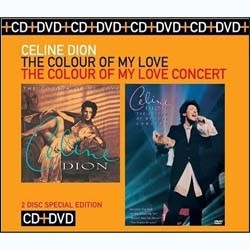 Céline Dion - The Colour Of My Love / The Colour Of CD+DVD - CDCOL7174