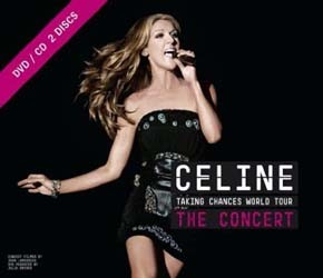 Céline Dion - Taking Chances: World Tour The Concert CD+DVD - CDCOL7313