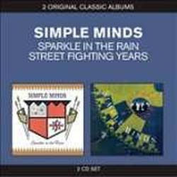Simple Minds - 2 For 1 Series: Sparkle In The Rain And Street Fighting Years CD - CDDBLD 033