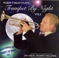 Finlay Robin - Robin Finlay Plays Trumpet By Night Vol 2 CD - CDEMIMD 283