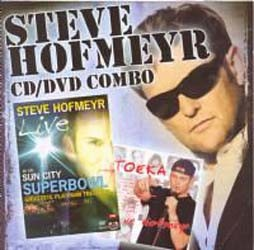 Steve Hofmeyr - Toeka 1 CD / Live At The Superbowl DVD CD+DVD - CDEMIMD 288