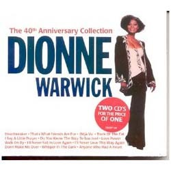 Dionne Warwick - 40Th Anniversary Collection CD - CDESP 128