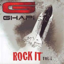 Ghapi - Rock It Vol.1 CD - CDGHA003