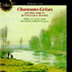 Hahn - Chansons Grises & Other Songs;Hill,Johns CD - CDH 55040