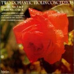 Federigo Fiorillo - Two Romantic Violin Concertos;Faerber CD - CDH 55062